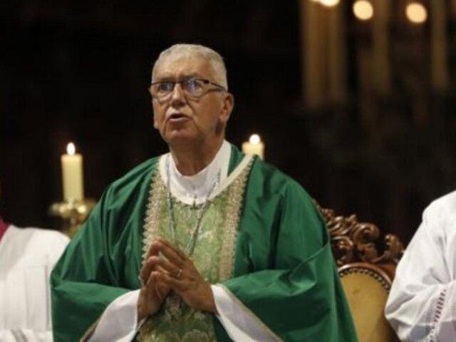 Papa Francisco entrega el palio bendito a Arzobispo de Lima
