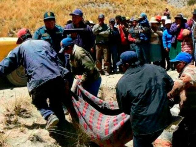 Apurímac: dos muertos y cinco heridos deja caída de camión a abismo