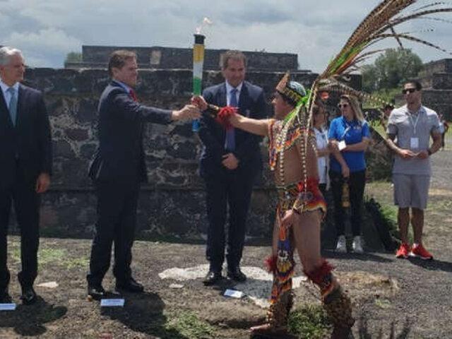 Rumbo a Lima antorcha de los Juegos Panamericanos 2019