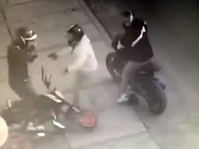 Ladrones de motos tienen en vilo a Chorrillos