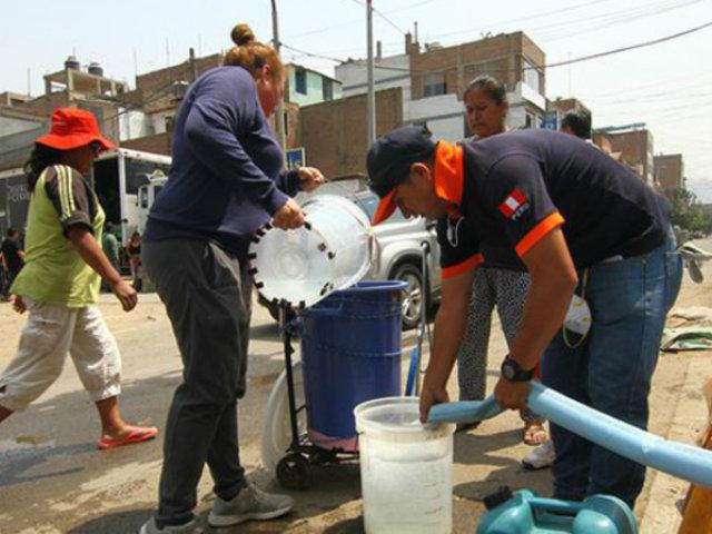 Sedapal cumplió parcialmente con la distribución de cisternas para 20 distritos de Lima y Callao