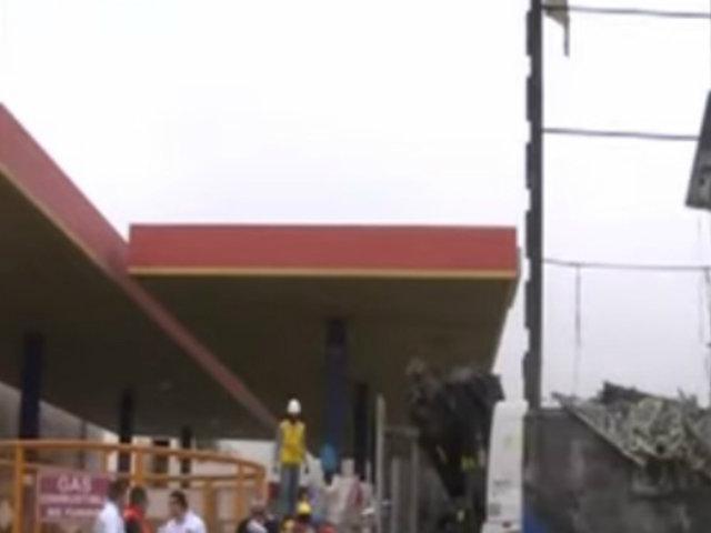 Pueblo Libre: llovizna habría ocasionado incendio en panel de grifo
