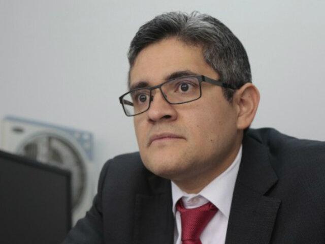 Operan de emergencia a fiscal José Domingo Pérez