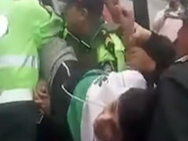 Cercado de Lima: mototaxistas extranjeros fueron puestos en libertad tras gresca con policías