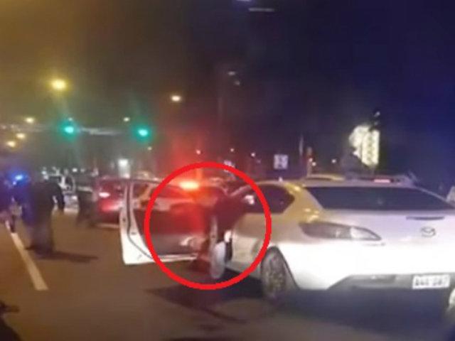Rápido despliegue de policías y serenos permitió la captura de la banda 'Los elegantes de Miraflores'