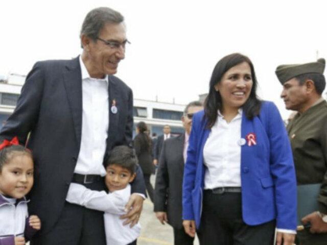 Flor Pablo Medina: salario de maestros llegará a S/ 2.200 a fin de año