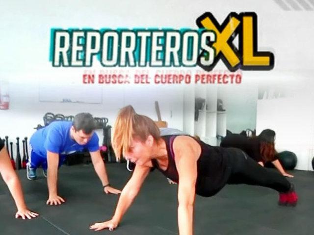 """Continúa el reality de """"Reporteros XL"""", en busca del cuerpo perfecto"""