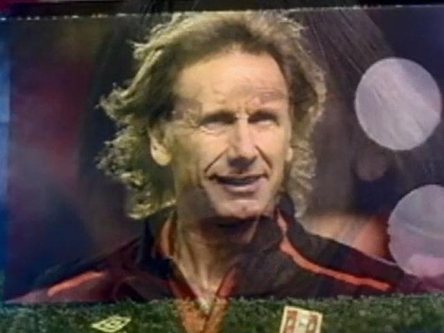 Gareca, el 'profe' que hizo historia y elevó a nuestra Selección a nivel internacional