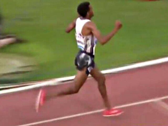 Atleta celebra triunfo antes de tiempo y pierde carrera