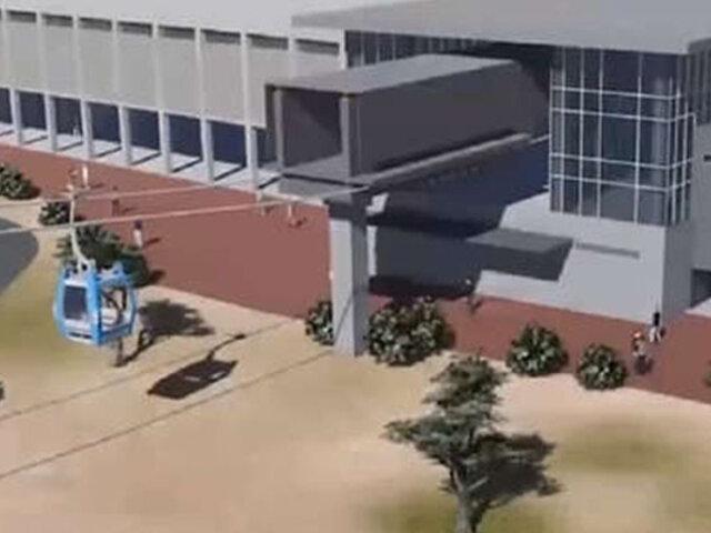 Construcción de teleférico de Lima Norte tardaría dos años