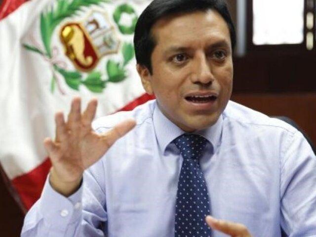 Congresista Violeta pide renuncia de ministro Zeballos por fuga de 'Goro'