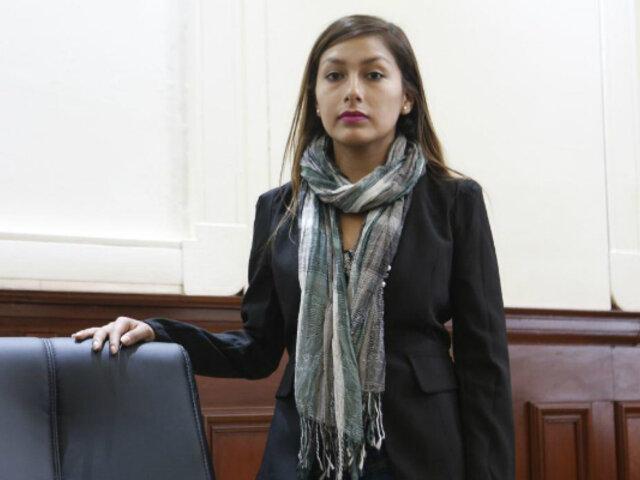 Arlette Contreras: postularé al Congreso en defensa de los derechos de las mujeres