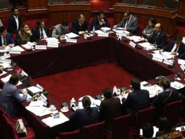 Comisión de Constitución: debaten proyecto de financiamiento de partidos políticos