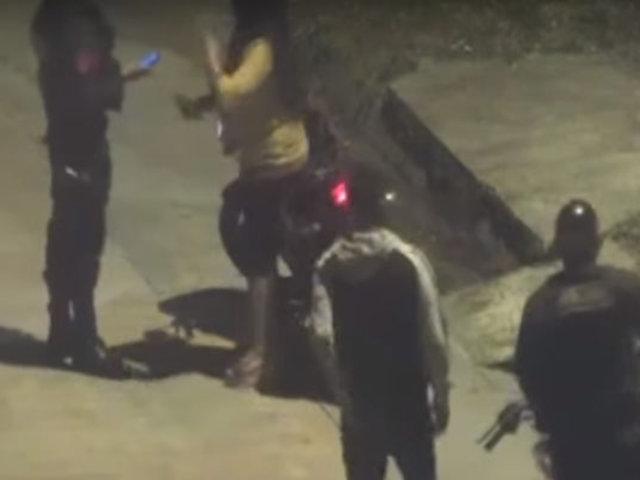 Iquitos: policías son captados recibiendo presunta coima