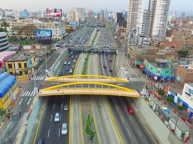 Miraflores: Puente Leoncio Prado luce deteriorado y sin señales de mantenimiento