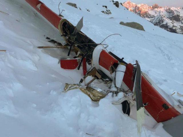 Italia: se revela video de violento impacto entre helicóptero y avión