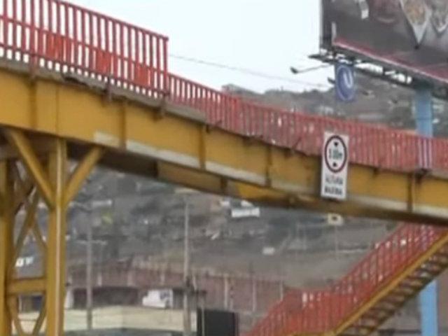 Si te Afecta es Noticia: vecinos de Lurín exigen colocación de nuevo puente
