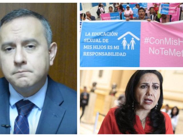 Jorge Villena: ministra Montenegro ataca a grupo de padres de familia