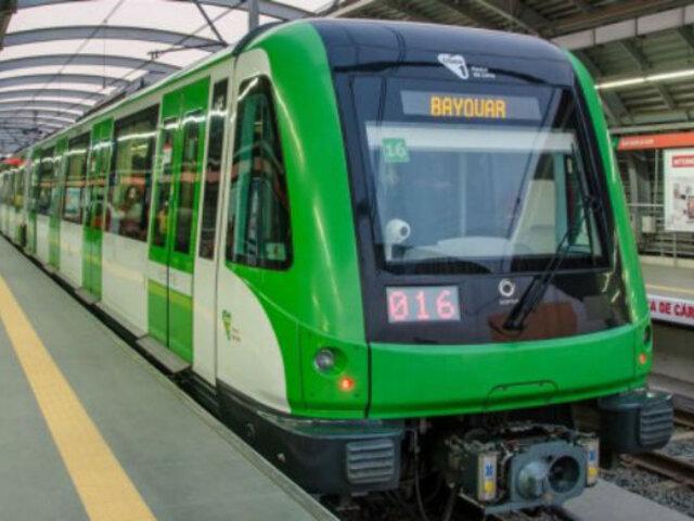 Metro de Lima: niño se accidentó en la estación Los Jardines
