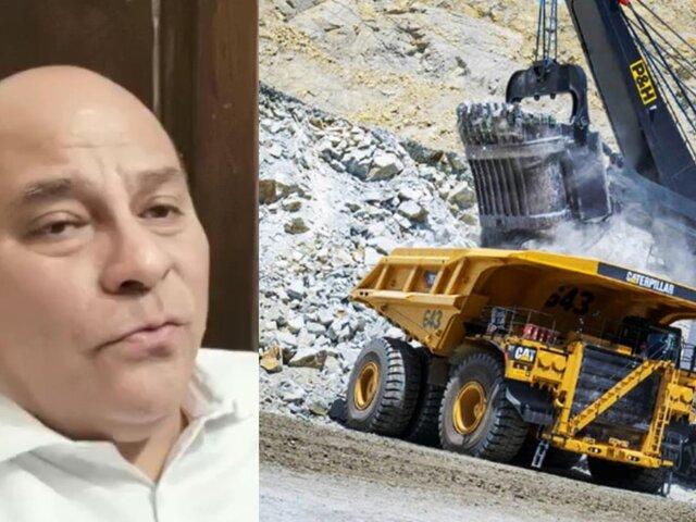 """César Campos: Aprobación de Tía María """"es una buena noticia para el Perú"""""""