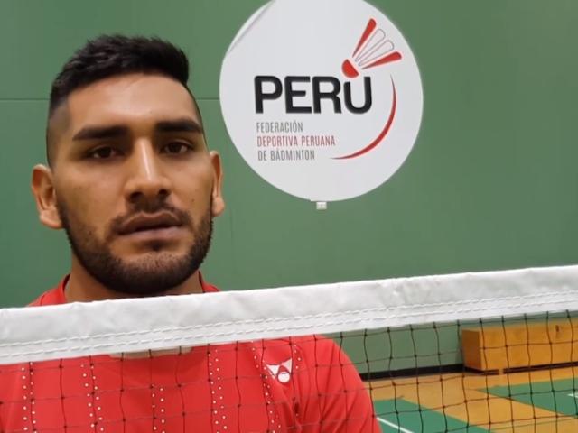 José Guevara, la promesa peruana del bádminton para los Juegos Panamericanos 2019