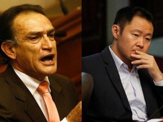 Héctor Becerril a favor que Kenji Fujimori retorne al Congreso de la República
