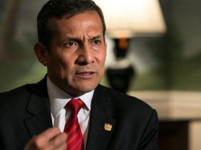 Jóvenes nacionalistas piden a Ollanta Humala que participe de elecciones presidenciales 2021
