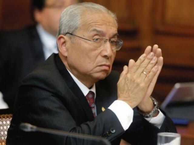Chávarry no acudió al Congreso y pidió reprogramar su presentación ante el Pleno