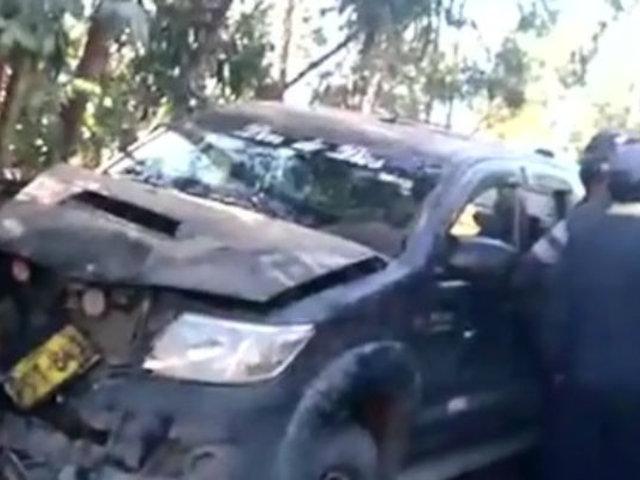 La Libertad: camioneta embiste y mata a tres escolares