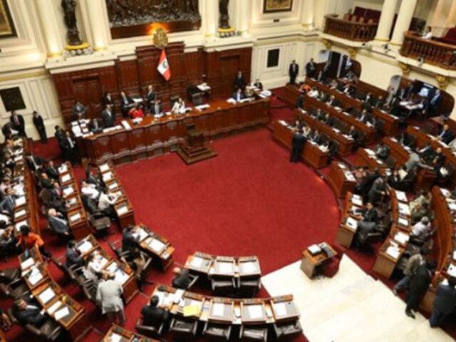 Congreso aprueba proyecto de reforma política sobre afiliación y cancelación de partidos