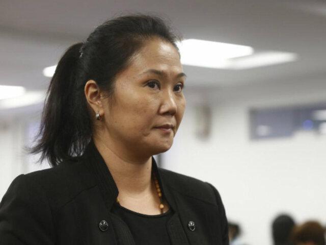 Corte Suprema anuncia que analizará prisión de Keiko Fujimori el 24 de julio
