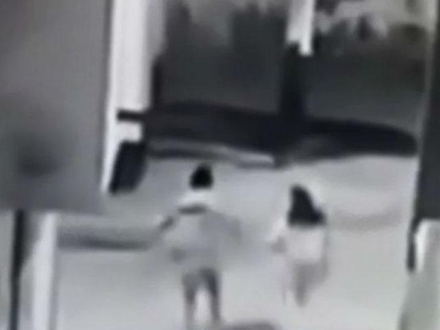 Chiclayo: pareja escapa corriendo de delincuentes que iban a asaltarlos