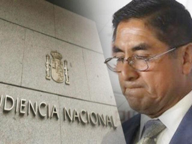 Apelación de César Hinostroza contra su extradición se evaluará el 19 de julio