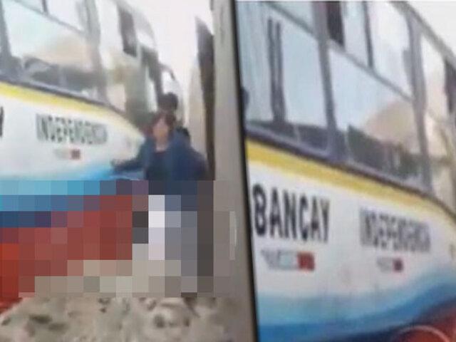 Ate: pasajeros se lanzan de bus que se quedó sin frenos en Santa Clara