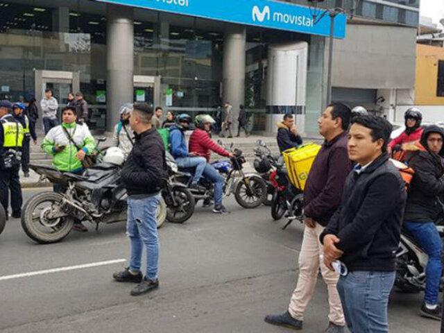 San Isidro: motociclistas impiden incautación de serenazgo