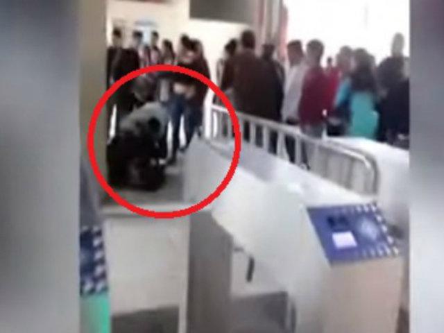 Si te Afecta es Noticia: siguen revendedores de pasajes a pesar de resguardo policial en Línea 1