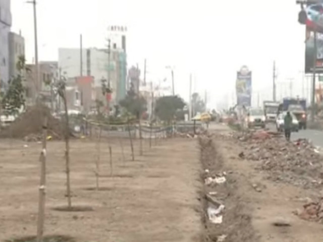 SJM: tramo de Panamericana Sur luce en total abandono