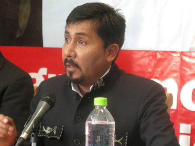 Elmer Cáceres hablará sobre nueva ley de minería en convención