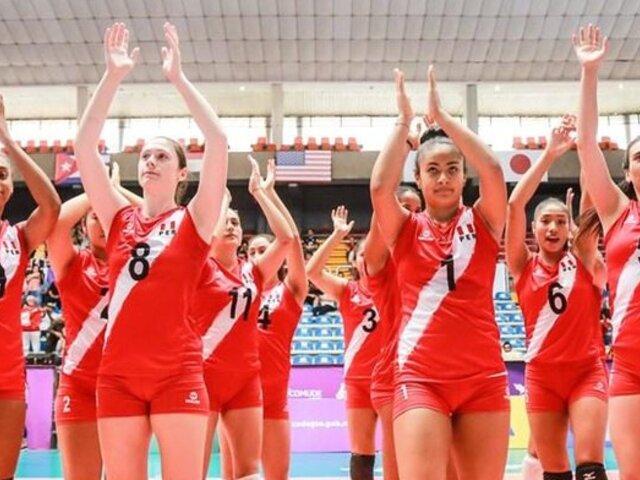 Mundial de Vóley sub-20: Perú superó 3-0 a Egipto