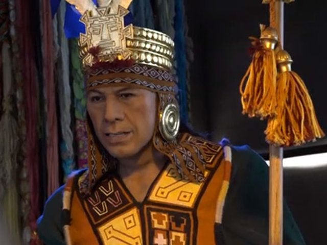 Peruvian Experience presenta primer animatronic del Inca Pachacútec
