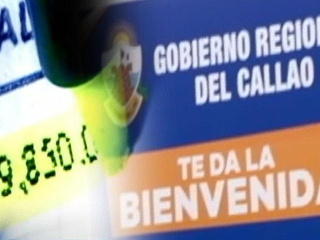 EXCLUSIVO   Sospechoso gasto: gobierno chalaco paga más de S/.100 mil por contrataciones y servicios