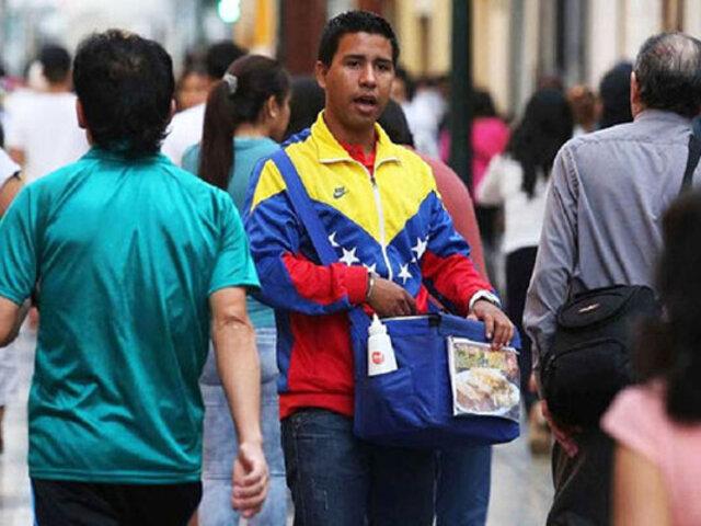 MTPE: alrededor de 500 mil venezolanos trabajan en la informalidad