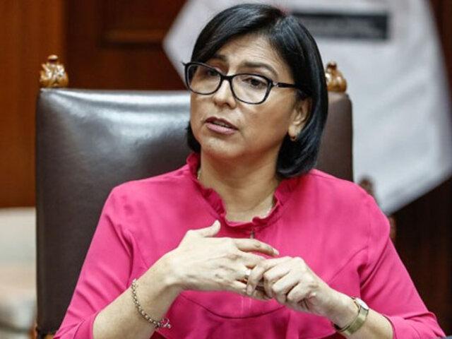 Ministra de trabajo: no se puede impulsar Tía María si no vamos junto a la población