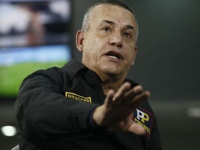 Daniel Urresti admitió que disparó en operativo contra ambulantes