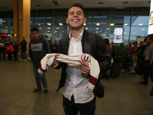 Henry Vaca, el 'Messi' boliviano, llegó a Lima para reforzar a la U