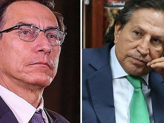 Presidente Vizcarra se pronunció sobre arresto de Alejandro Toledo
