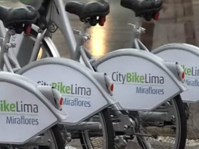 Miraflores: primer sistema público de bicicletas podrá ser utilizado desde 4 soles