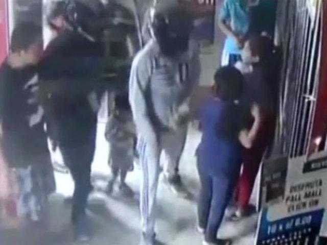 Piura: policía capturó a delincuentes tras asalto a bodega