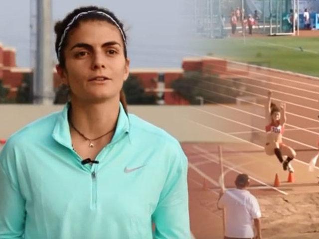 Paola Mautino, la campeona de salto largo que nos representará en los Panamericanos 2019