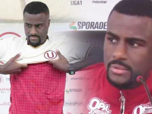 Christian Ramos se disculpa con los hinchas de Universitario